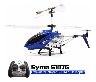 Helicoptero A Control Remoto Syma S107g 3ch 3 Canales 15m