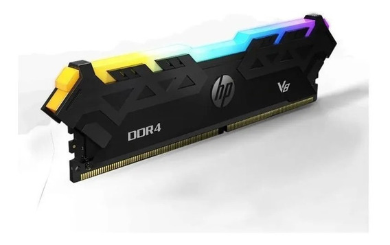 Memoria Ram Pc Hp Rgb V8 Ddr4 8gb 3600mhz Cl17 Gamer Acuario