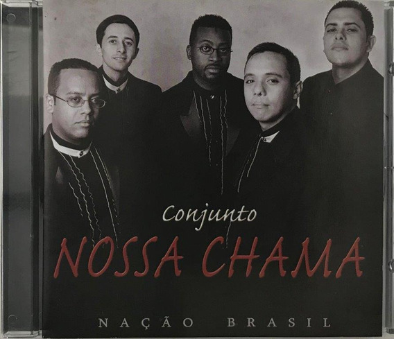 Cd Conjunto Nossa Chama Nacao Brasil - A4
