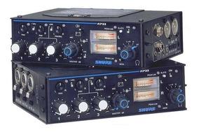 Mixer De Áudio Shure Fp-33 (03 Canais)