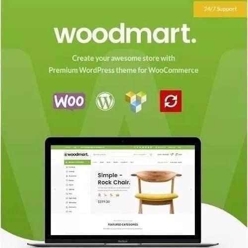 Woodmart Woocommerce + Tradução Pt_br