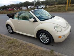 Volkswagen Beetle 2.0 Cabrio 5vel Piel Mt 2005