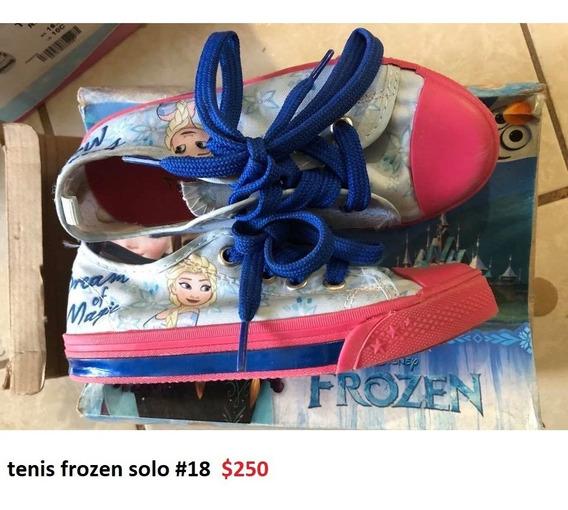 Tenis Frozen Niña Outlet/saldos Mchn