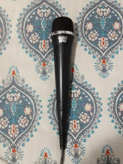 Microfone Original Do Playstation P/ Guitar Hero E Rock Band