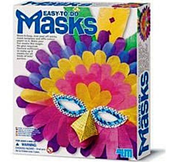 Crea Tus Propias Máscaras Facilmente 4m Manualidad Disfraz