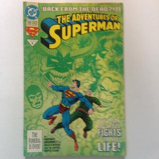 The Adventures Of Superman - Dc Comics - No 500 - 1993