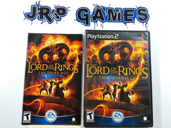 The Lord Of The Rings The Third Age Original Americano Ps2
