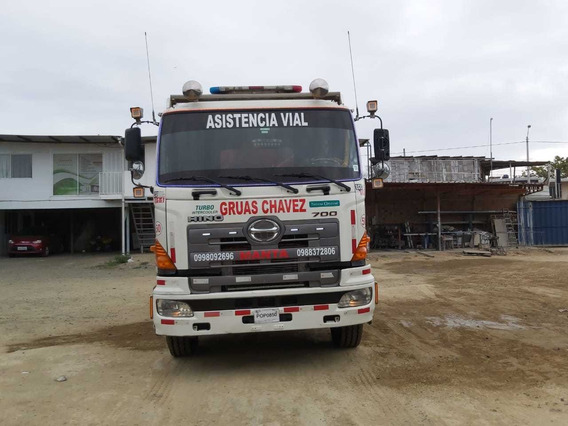 Vendo Camion Mula Tipo Grua De Arrastre Hino Fs 700