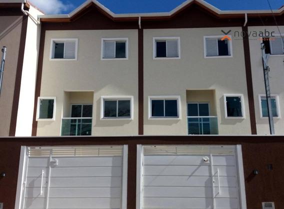 Sobrado Com 2 Dormitórios À Venda, 75 M² Por R$ 350.000 - Parque Oratório - Santo André/sp - So0232