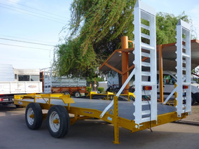 Acoplado Carreton Bobcat Palas Elevador 5tn Financiado