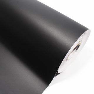 Adesivo Fosco Preto Moveis Geladeira 1,00 X 2,00m