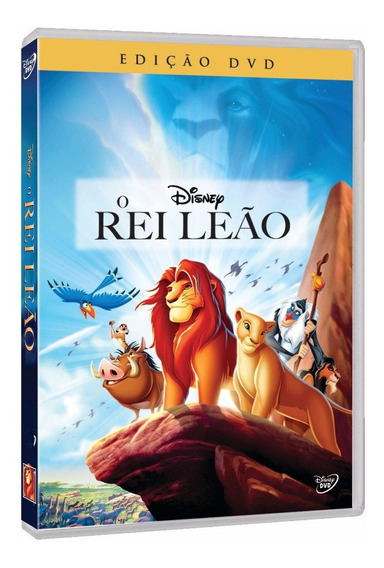 Dvd O Rei Leão - Disney - Original Lacrado Novo