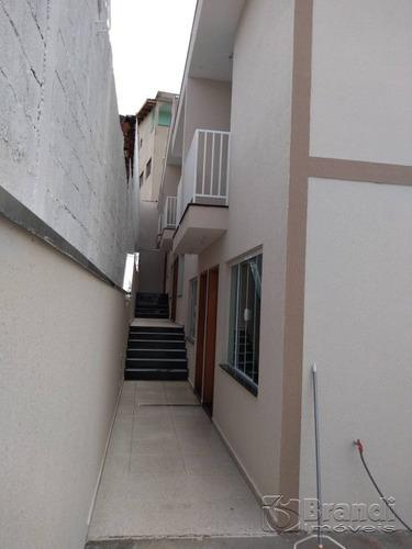 Imagem 1 de 14 de Sobrados Novos Em Condominio, 2 Dormitorios, 1 Wc Social E 1 Lavabo, 01 Vaga - V-4740