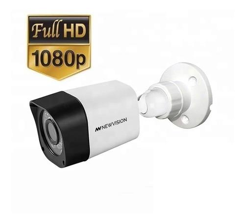 Imagen 1 de 9 de Camara Seguridad Exterior Cctv 1080p Infrarroja Gran Angular
