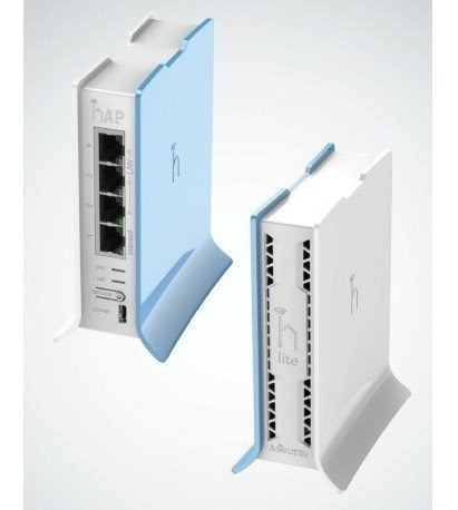 Router Mikrotik Rb941-2nd-tc 4 Puertos Fast Ethernet, Wi-fi