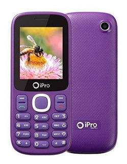 Celular Ipro I3200 Dual Chip Roxo Original Vitrine