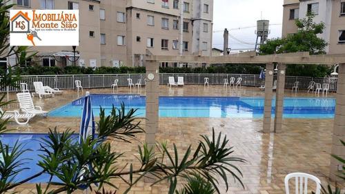 Apartamento Com 2 Dormitórios À Venda, 46 M² Por R$ 242.000,00 - Ponte Grande - Guarulhos/sp - Ap1891