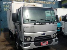 Ford Cargo 816 Unico Dono Impecavel 2015 Bau Refrigerado