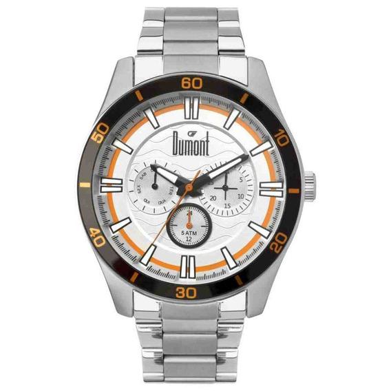 Relógio Dumont Masculino Analógico Du6p29acc/3k