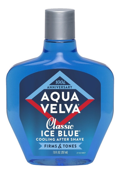 Aqua Velva Clasico Ice Blue 207ml Original Americano