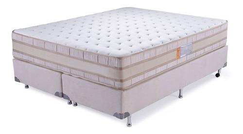 Sommier Queen  Pocket Ortopedico Extra Firme Pillow Top