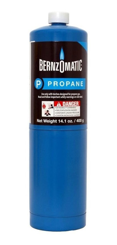 Garrafa Azul Bernzomatic Tx9 Propano 398gr