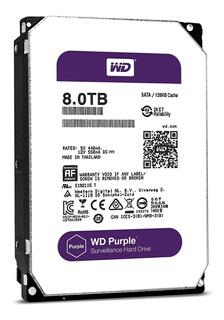 Disco Hdd 8tb Sata3 Wd Purple 6gb/s 256m