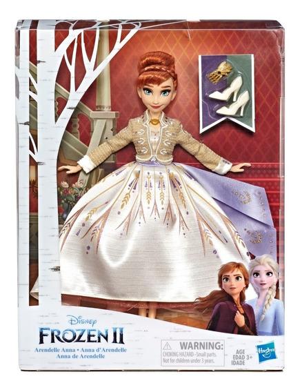 Muñeca Disney Frozen Arendelle Fashion Ana Elsa Hasbro E5499
