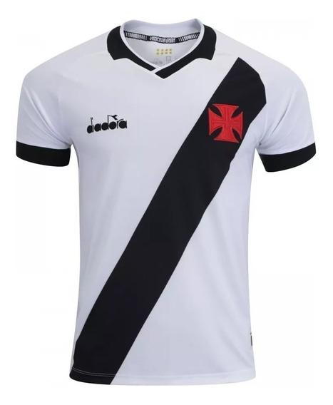 Camisa Vasco Branca Ii Lançamento Oficial - Frete Grátis