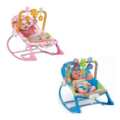 Silla Mecedora Musical Y Vibraciones Relajantes Para Bebe