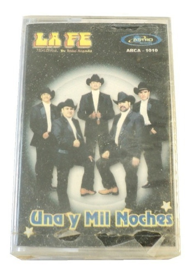 La Fe Norteña Una Y Mil Noches Cassette Nuevo Astro R.