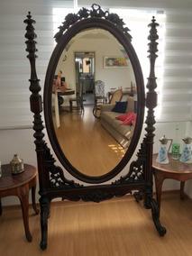 Espelho Antigo De Acervo Familiar