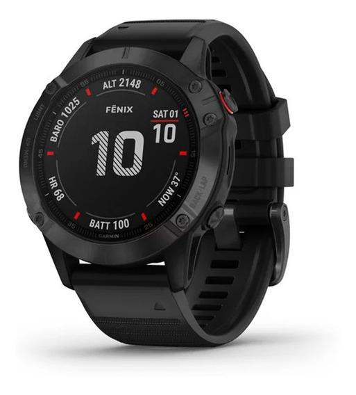 Reloj Garmin Fenix 6 Pro Negro Musica Mapas Gps Smartwatch