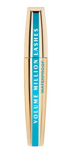 Imagen 1 de 1 de Máscara de pestañas L'Oréal Paris Volume Million Lashes waterproof 9ml color black