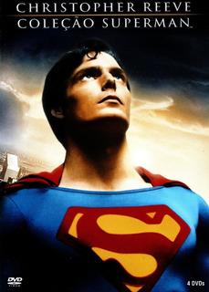 Dvd Christopher Reeve - Coleção Superman - Pouco Uso