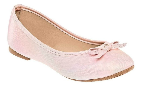 Zapato De Piso Flats Dama Sexy Girl 3009 Rosa 22-24 87880 T3