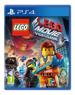 Lego The Movie Videogame Ps4 Juego Nuevo Sellado Fisico