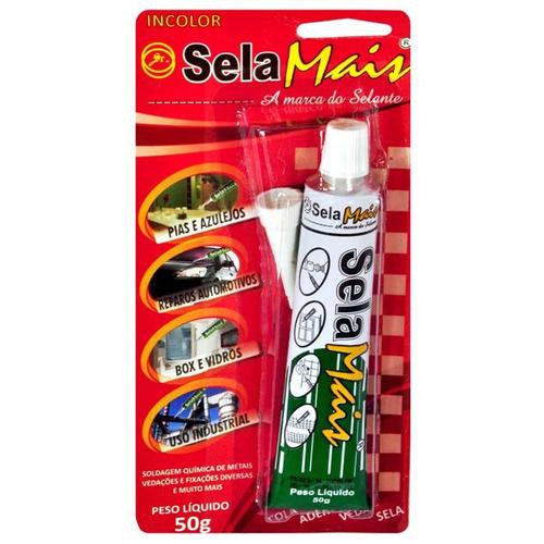 Adesivo Selante Cola Anti Pombos 50 G (kit 40 Peças)