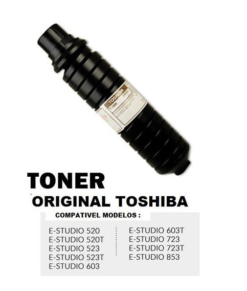 Toner Toshiba Original E-studio 603 600 523 853 723 T-7200