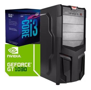 Torre Cpu Gamer Core I3 9100f Gt 1030 1tb 8gb Pc Wifi Gratis