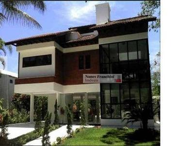 Casa Cond Fechado Com 6 Suites - No Guarujá!!!!!! - Ca0322