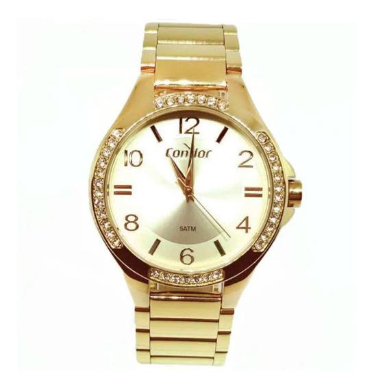 Relógio Feminino Condor Co2035mtm/4x Dourado