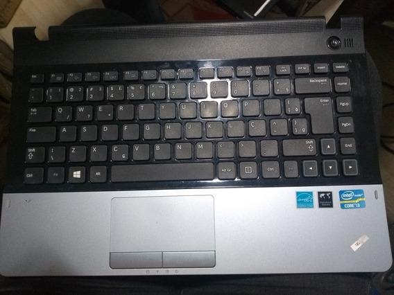 Carcaça Com Teclado Samsung Np300e4c