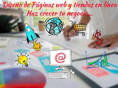 Diseño Paginas Web Y Tiendas En Linea