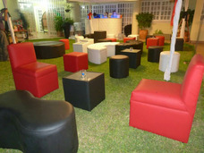 Alquiler Lounge Puff Barras Cocteles Catering Parabanes