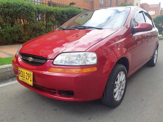 Chevrolet Aveo Family 2011 Rojo 5 Puertas