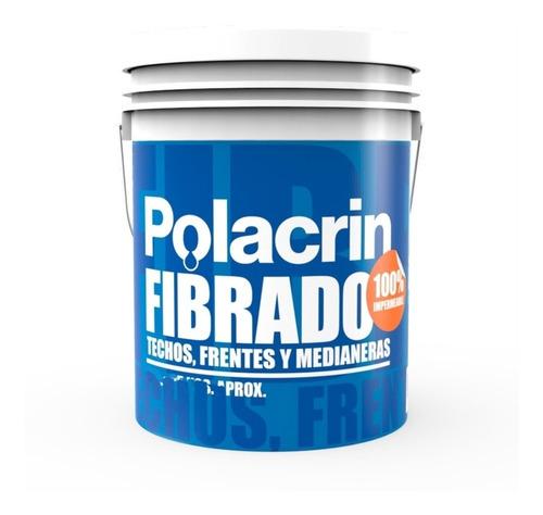 Imagen 1 de 10 de Membrana Blanca Frentes Elastica Terrazas 10 Lts Polacrin