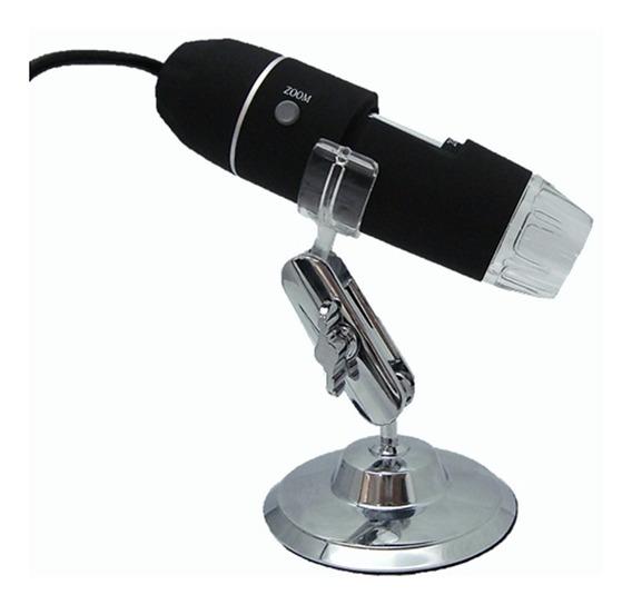 Microscopio Digital Usb 800x Hd Camera 2.0mp Foto E Filme