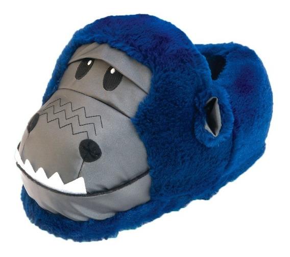Pantufa Gorila Azul - 37/39 - Ricsen