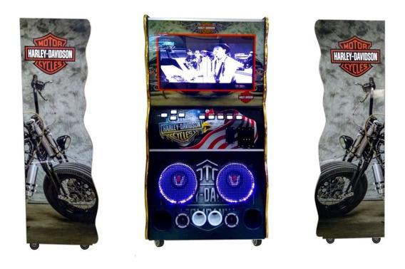 Maquina Jukebox Karaoke Videoke 32 Polegada Wa Diversoes Fre